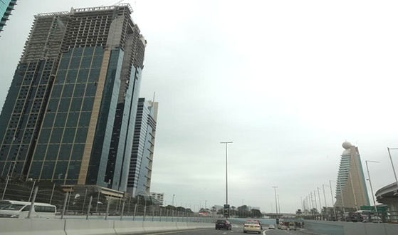 Burj Al Salam Tower, Sheik Zayed Road Dubai