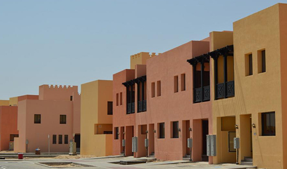 Emirati Housing Community Yas Islan Abudhabi