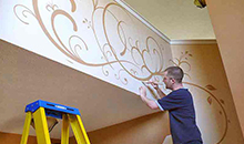 Decorative painting service